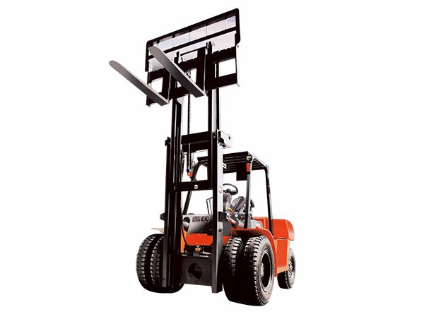 5-10T balanced heavy internal combustion forklift TIF